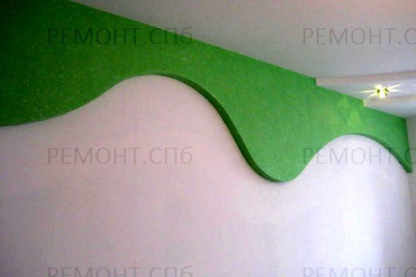 зеленая декоративная штукатурка