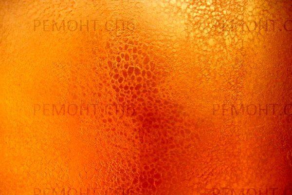 оранжевая декоративная штукатурка