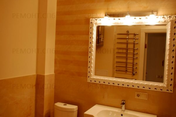 ремонт в ванной пример 2