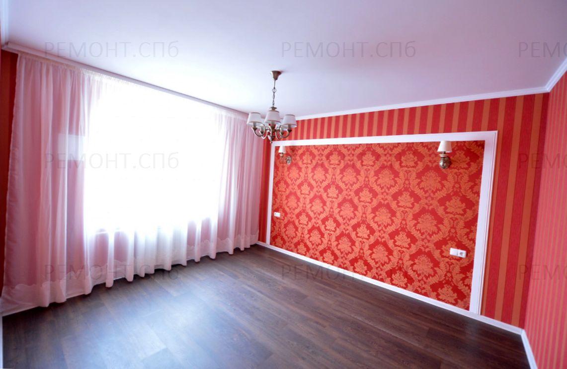 красная спальня ремонт