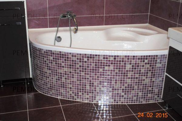 ремонт ванной с джакузи пример