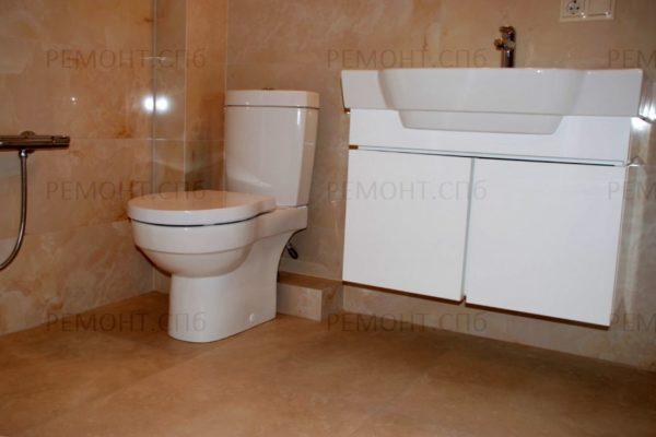 капитальный ремонт в ванной вид 2