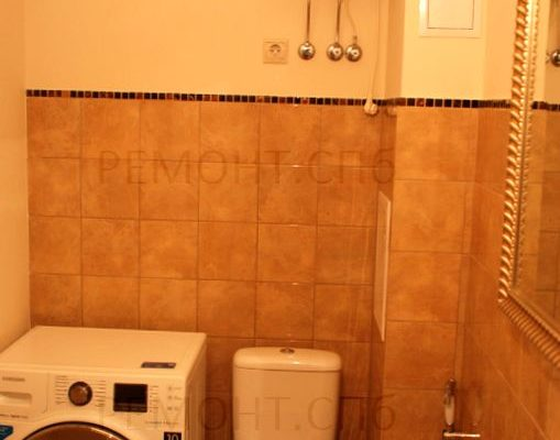 готовый ремонт в ванной