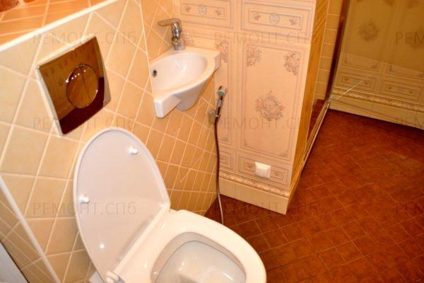 евроремот туалета