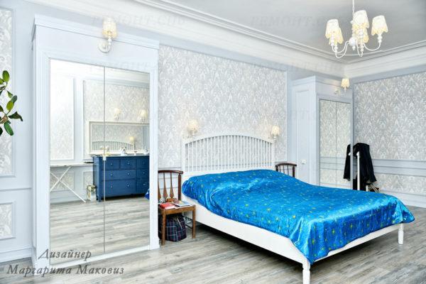 Евроремонт квартиры на саблинской спальня вид 3