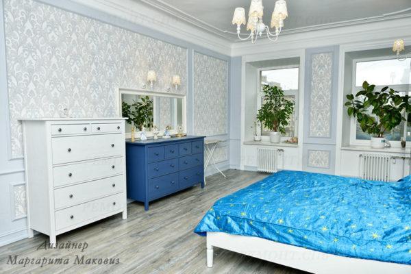 Евроремонт квартиры на саблинской спальня