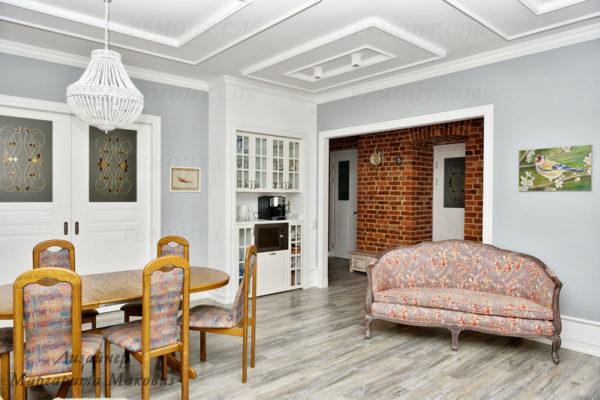 Евроремонт квартиры на саблинской гостиная команта и коридор