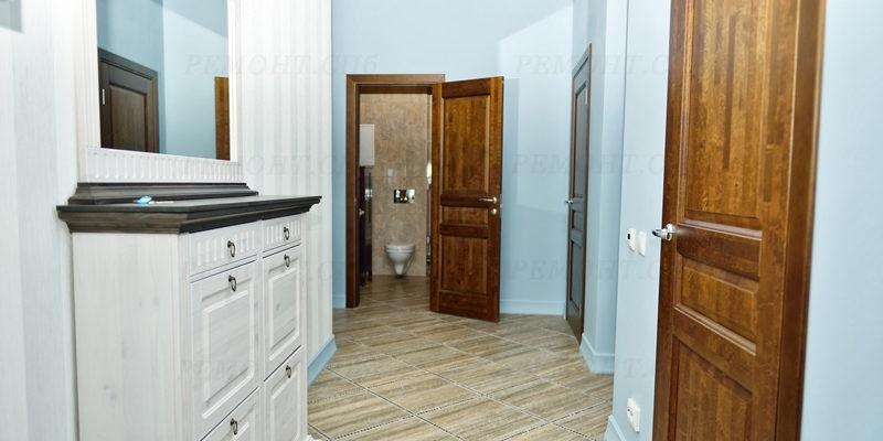 ремонт прихожей в двухкомнатной квартире минимализм