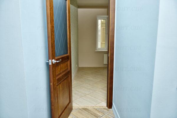ремонт квартиры под ключ в голубом цвете