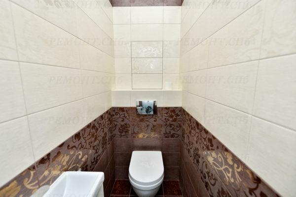 ремонт туалета без бочка