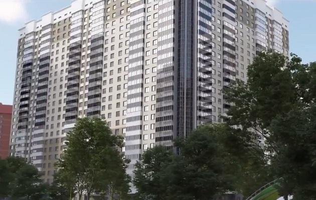 усадка многоэтажного жилого дома