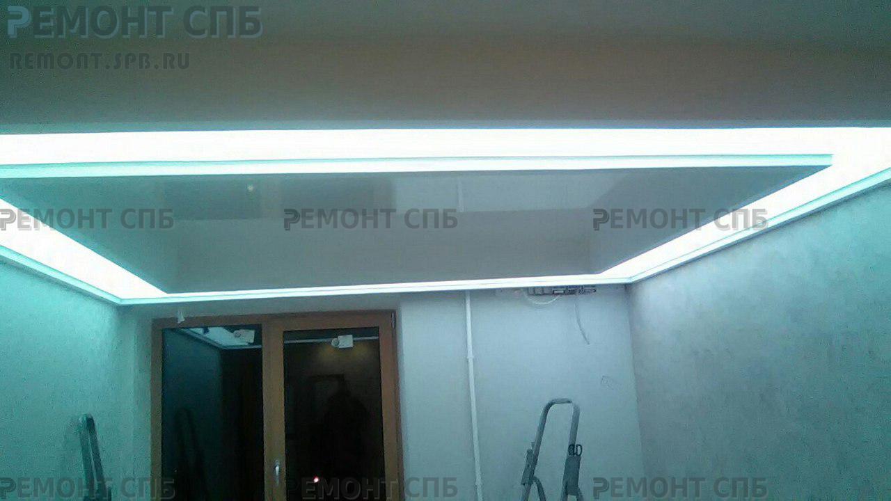 фото подвесного потолка от ремонт СПБ