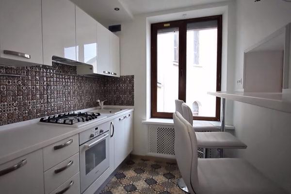 фото ремонта кухни в старом фонде