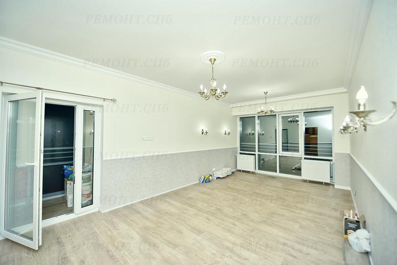 Фото ремонта квартиры ул. Среднерогатская д.11
