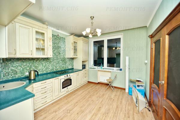 фото ремонта на кухне