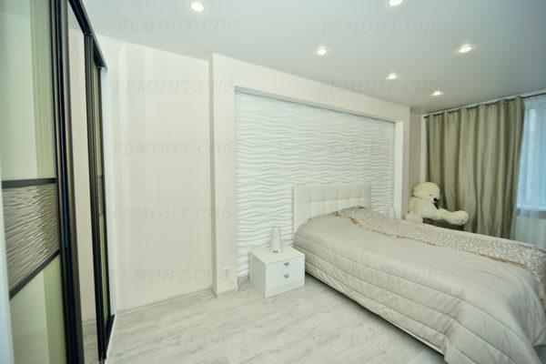фото ремонта в спальне