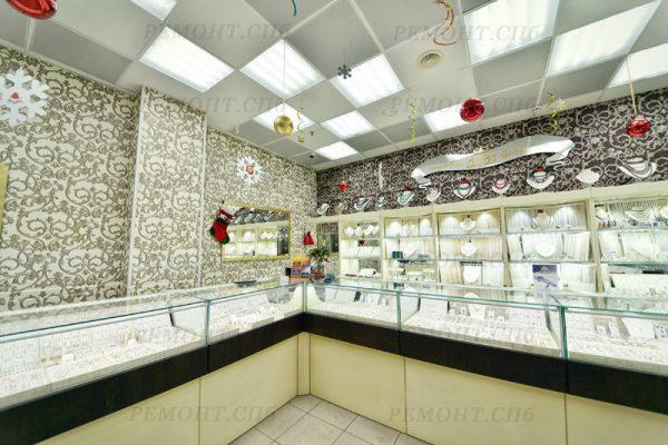 ремонт ювелирного магазина фото 2
