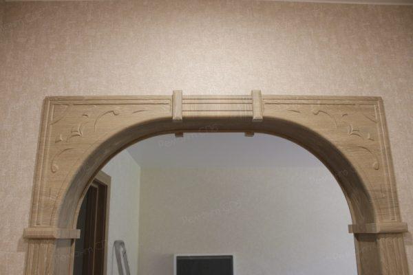 фото капитального ремонта квартиры на ул. Кустодиева д.12 установка арки