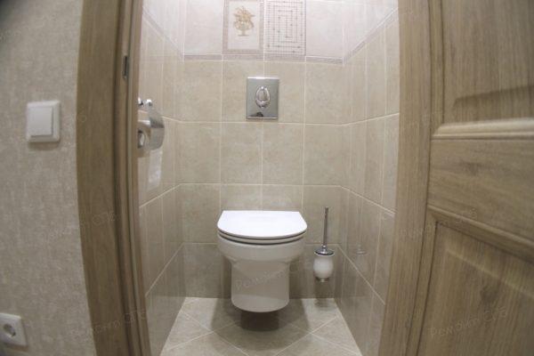 фото капитального ремонта квартиры на ул. Кустодиева д.12 ремонт туалета