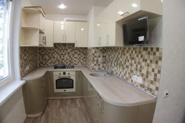 фото капитального ремонта квартиры на ул. Кустодиева д.12 сочетание цвета и дизайна